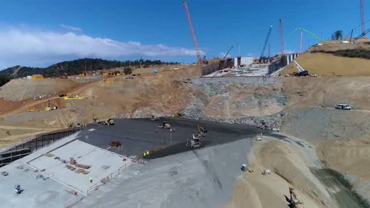 Coming right down the chute at Oroville Dam spillway | The Fresno Bee