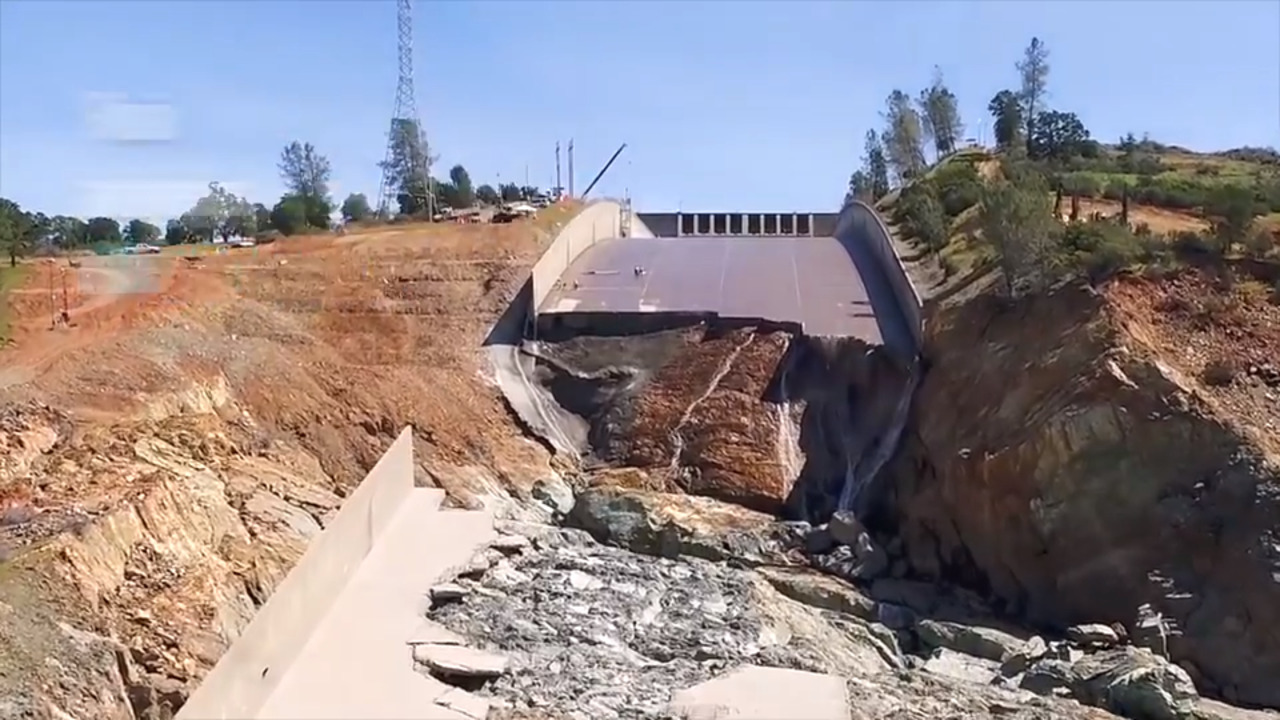 Oroville Dam spillway crisis: Here's what happened in visual