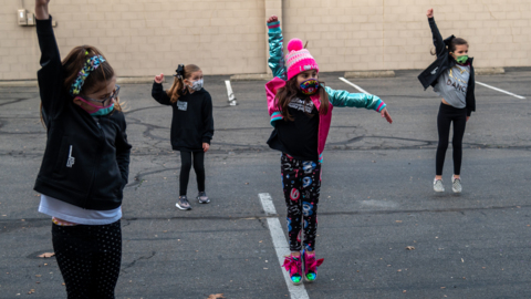How this studio is keeping children dancing hip-hop, tap, ballet and jazz during COVID