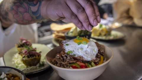 Mas Taco Bar offers a trendy and confusing take on taqueria food