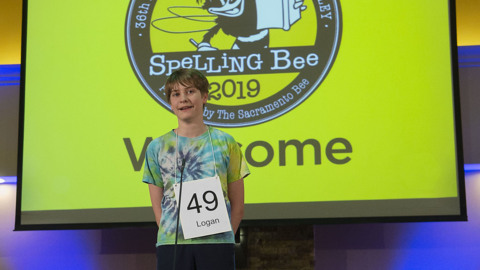 Arden Middle School student wins regional spelling bee, advancing to national competition
