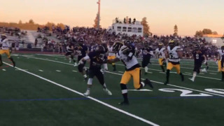 Watch Del Oro's quarterback light up the field against Amador Valley