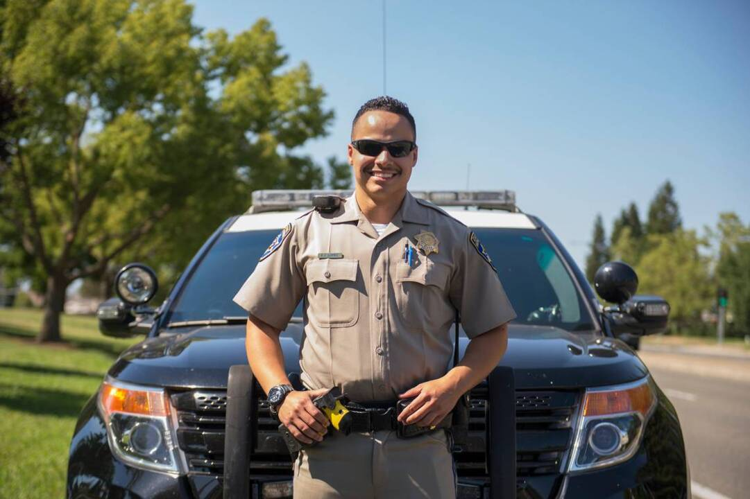 This CHP officer was once homeless and living in parks in Sacramento