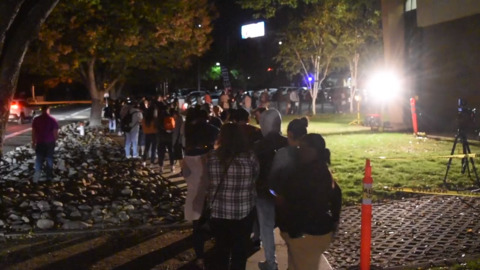 'It's like Disneyland out here': Sac State students wait hours to vote on campus