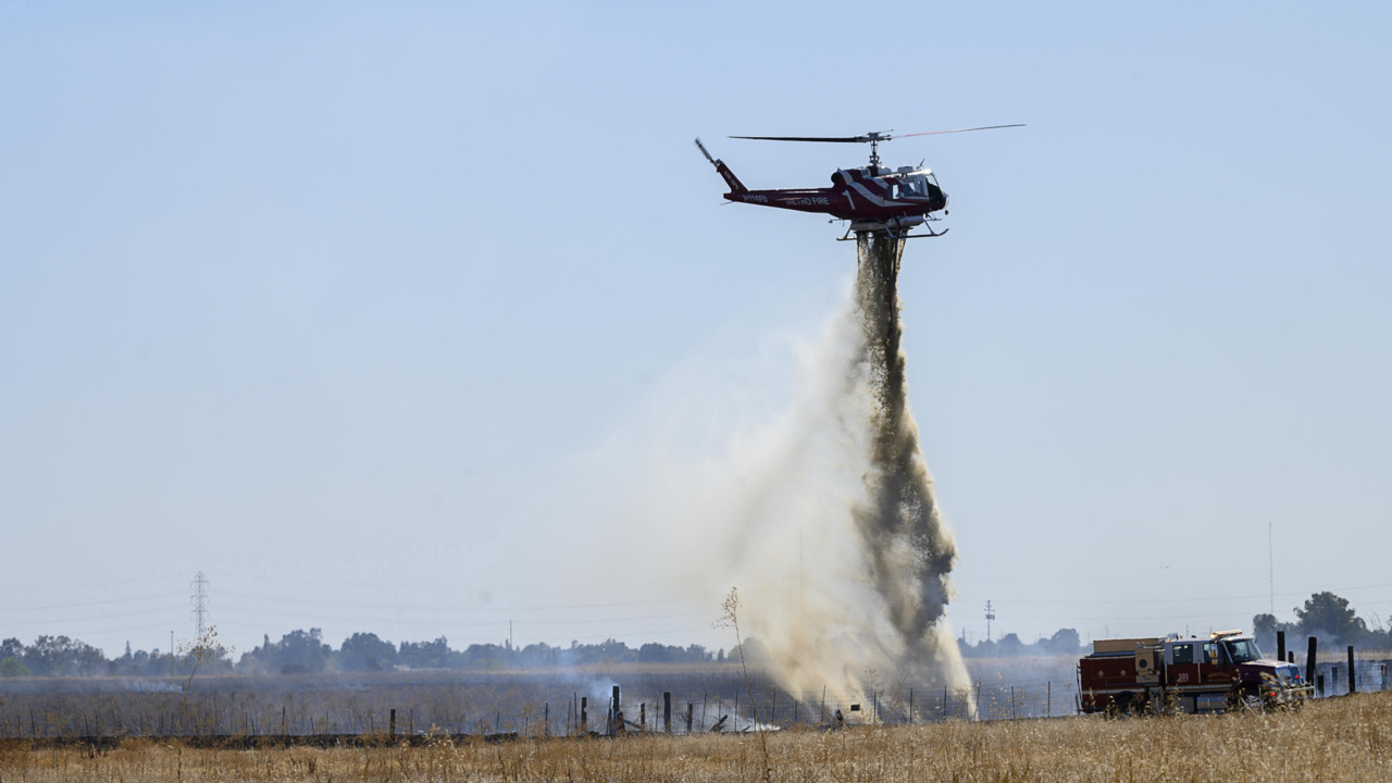 614-acre Baseline Fire near Roseville is fully contained