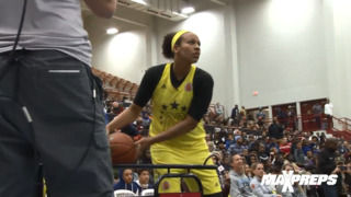 Watch McKenzie Forbes win 3-point contest at McDonald's All-American showcase