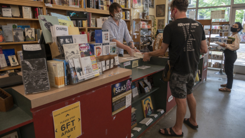 As city's oldest bookstore reopens after coronavirus shutdown, here's what has changed