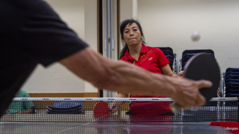 Step inside Oak Park's international table tennis scene