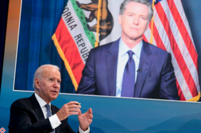 'Here's the elephant in the room', Listen to Gavin Newsom's plea to Pres. Biden for more aggressive action on federal wildfires.
