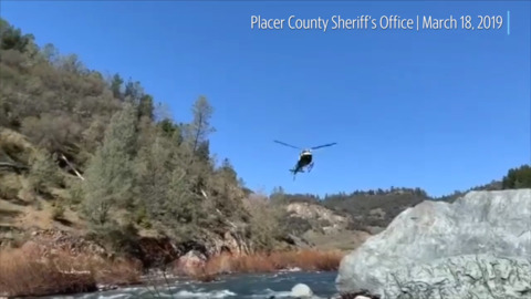 Search on for Sacramento man who fell into American River near Auburn, Placer sheriff says