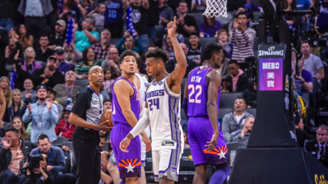 Who wins when Buddy Hield challenges Peja Stojakovic to a 3-point contest?: 'Ask him'