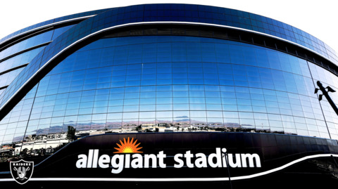 Have you seen Raiders new home lately? New photos show Allegiant Stadium looking good