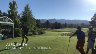 Watch current, former 49ers' players tee off at American Century Championship