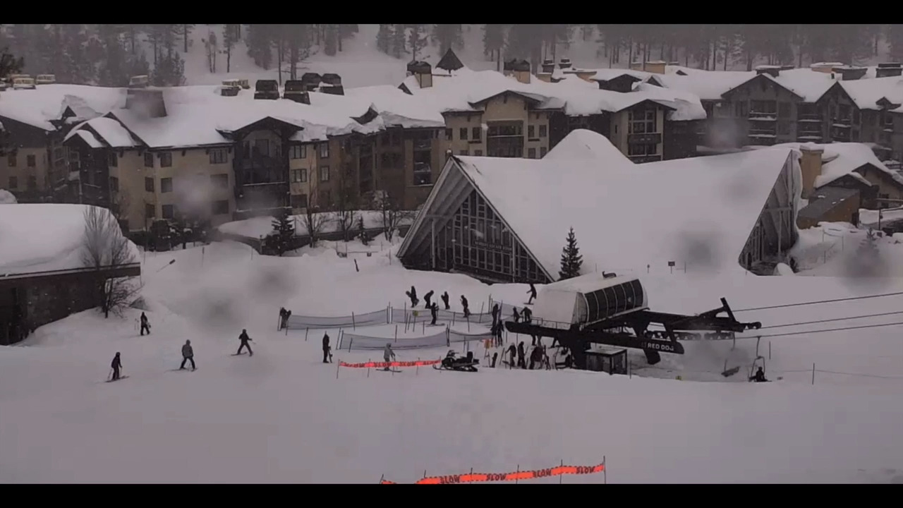 Sierra ski resort hits 300 inches of snowfall in February, and that smashed monthly records