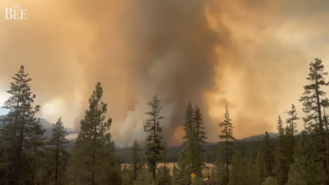 Video shows new explosive growth of Dixie Fire as smoke swirls, billows