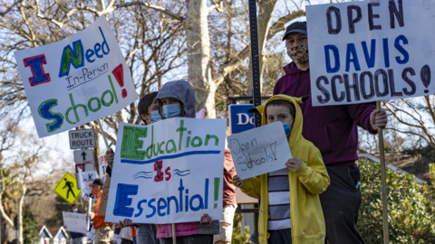 Parents organizing in California to demand school campuses reopen. Will leaders listen?