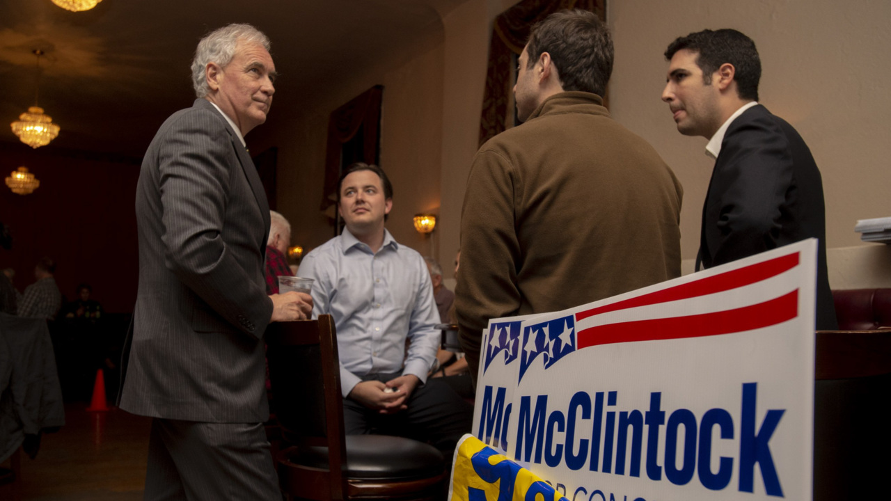 'I cannot afford to be outraised.' McClintock doubles his cash ahead of 2020 reelection fight