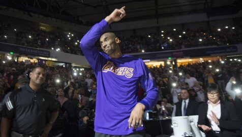 Here's what it looked like when Kobe Bryant played his final game in Sacramento