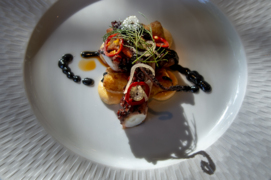See high-concept Allora's exquisite dishes and inviting setting