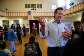 Gavin Newsom talks about the start of Project Homeless Connect in San Francisco