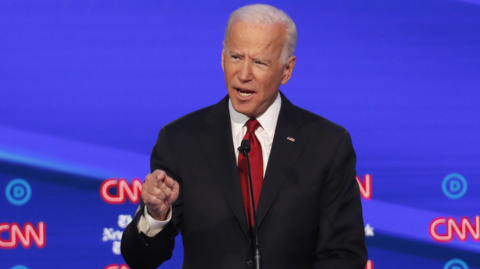Hear Joe Biden's response to his son's foreign business while he was Vice President