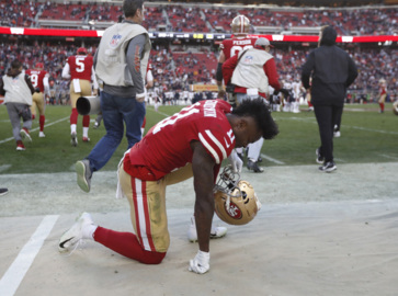 Hear 49ers receiver Marquise and Morgan Goodwin talk about recent tragedy, missing games