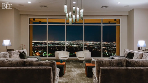 You can't beat views of L.A. penthouse owned by Matthew Perry