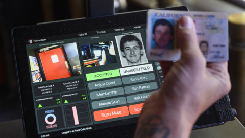 See how this ID scanner could blacklist you from local bars