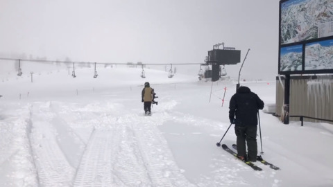 This is what a mid-May powder day looks like at Lake Tahoe