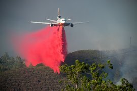 The battle against Pawnee Fire captured in dramatic images