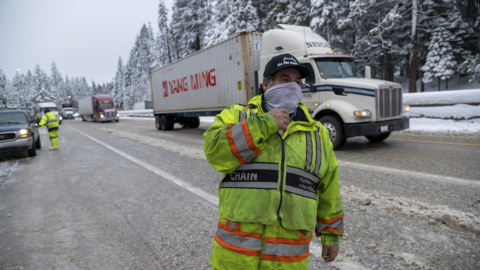 'It's a good snow storm.' Take a look at how winter snow storm impacted Sierra Nevada