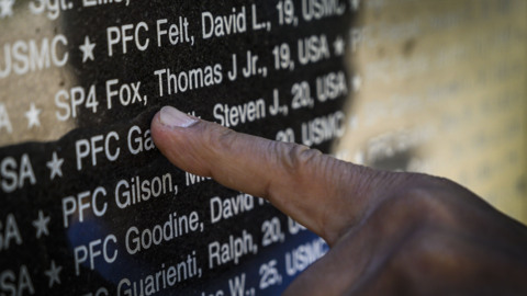 Remembering those who served — 'wondering whether things could be different'