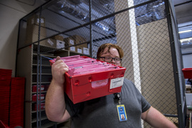 Get a behind-the-scenes look at workers counting Sacramento ballots for the June primary