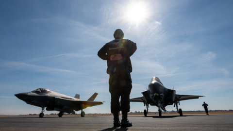Meet 'Beo' Wolfe: An F-35 fighter pilot, she's in Sacramento for the Capital Airshow