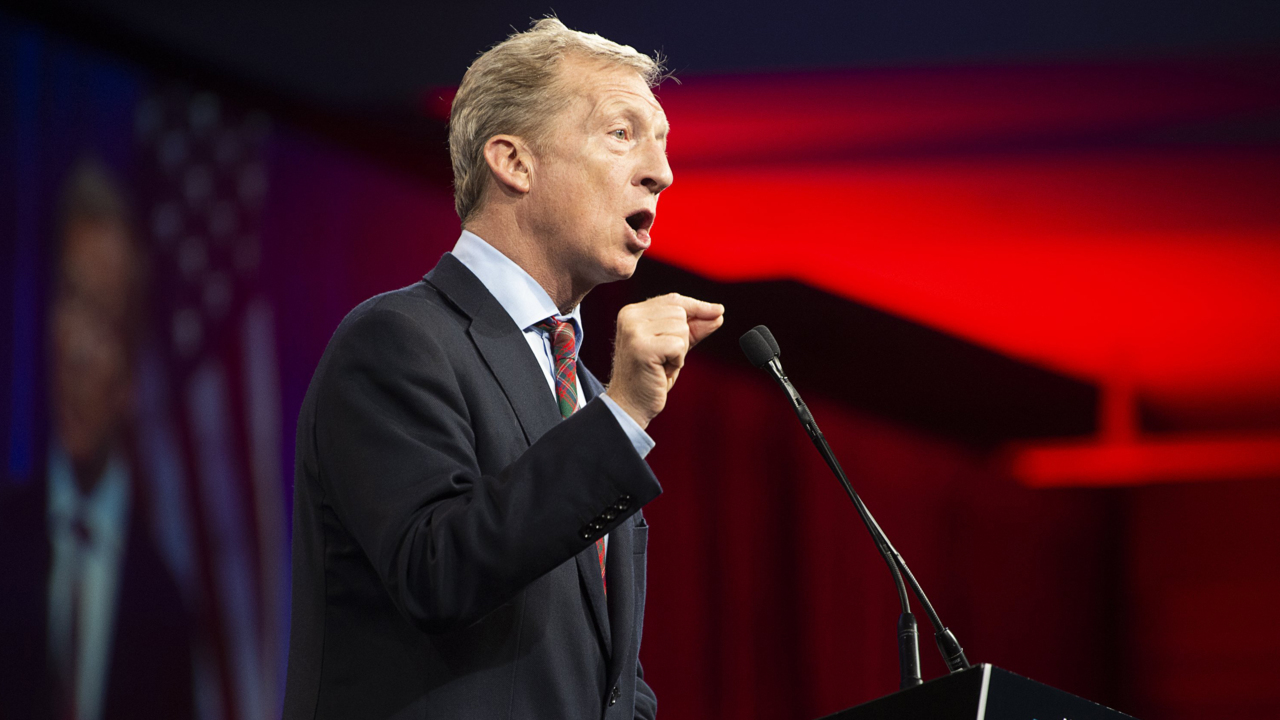 Did Tom Steyer buy his way onto the Democratic debate? How he worked his way to the stage