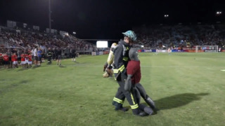 Watch firefighters show all their skills (soccer, too) at FC Republic appreciation night