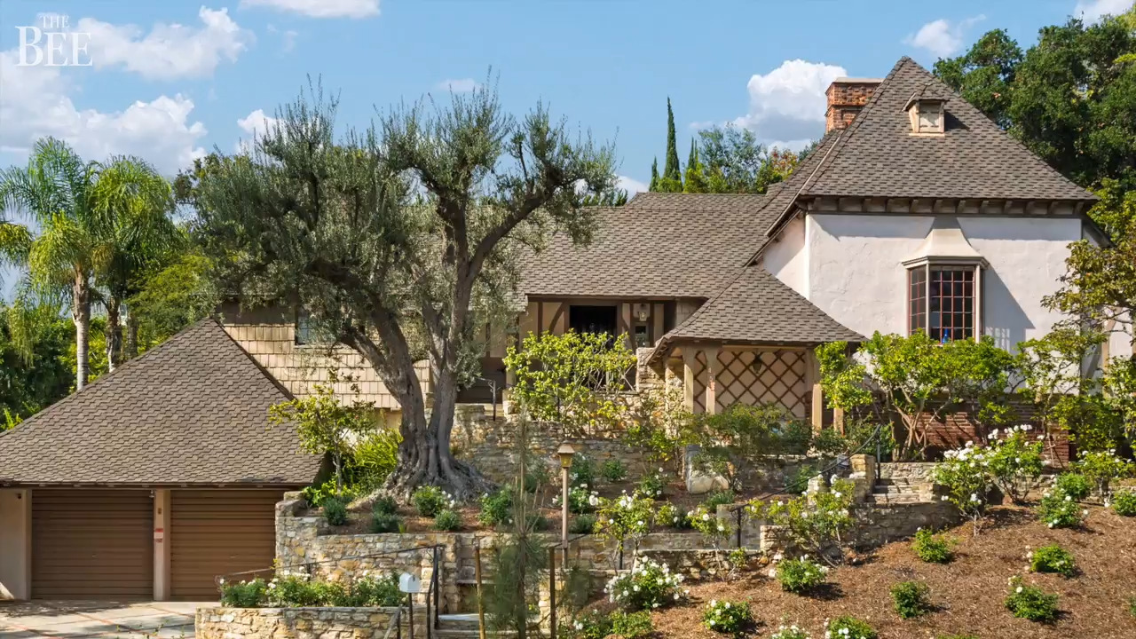 'Storybook' estate from the golden age of Hollywood lists for $4 million. Take a look
