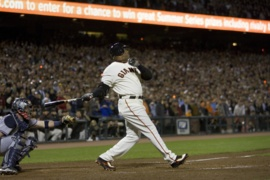 Ten years ago, Barry Bonds became king