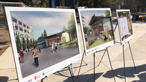 Big upgrade from a bus stop: Sac State starts work on $6.8 million Welcome Center