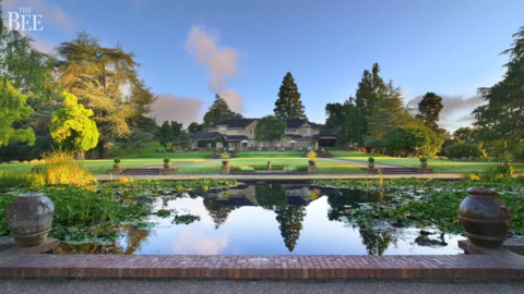 This historic Silicon Valley estate – 74 acres, 7 homes, gardens – yours for $135M