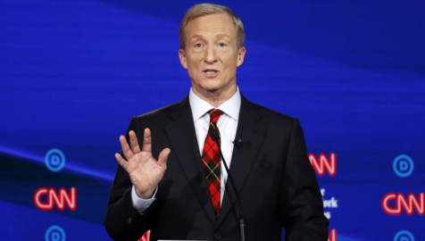 Did Tom Steyer buy his way into the Democratic debate? How he worked his way to the stage