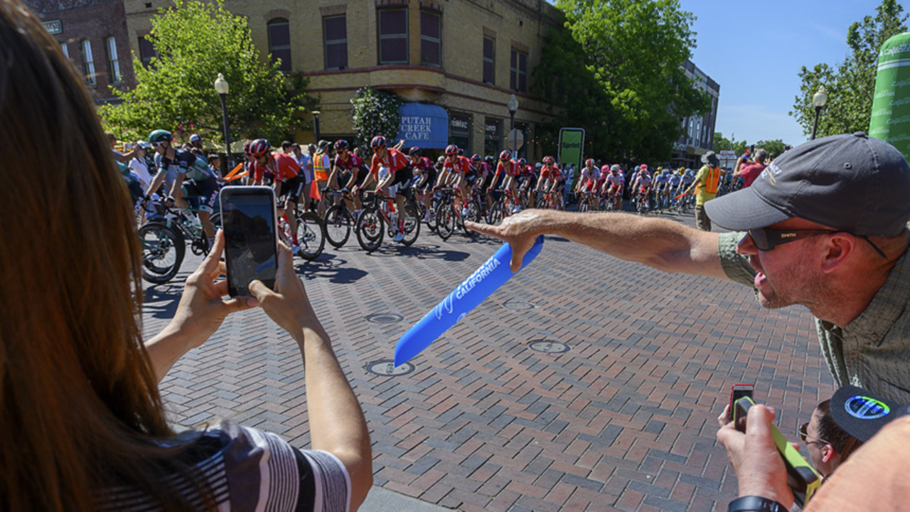 The Amgen Tour of California returns to Sacramento. Where you might see traffic delays