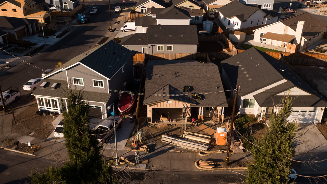 Burned-out California town ignores stricter building codes, even with wildfire threat