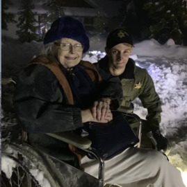 Amador deputy digs through snow to rescue older woman stranded alone in freezing house