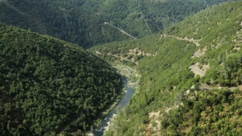 See stunning 340-acre El Dorado County property with unique private access to American River