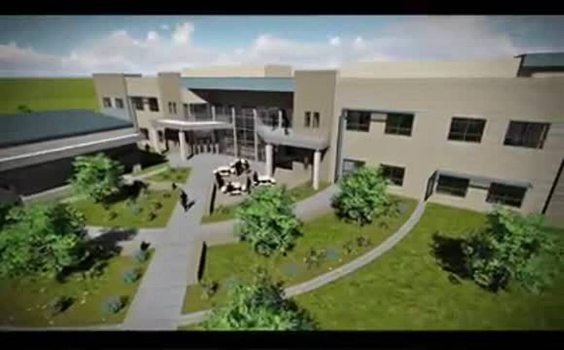 Here's the design for new El Dorado County Sheriff's Office