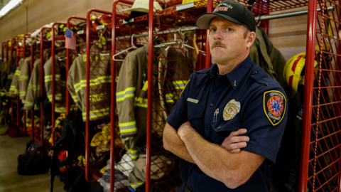 'I thought that this was the end.' Firefighter on being laid off after he almost died