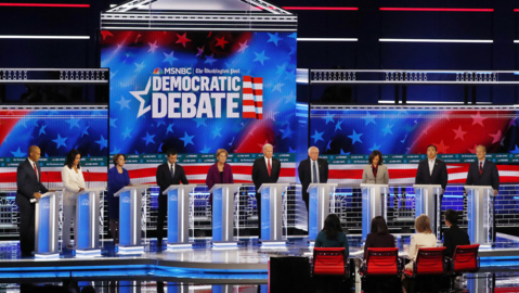 Watch highlights from the fifth Democratic debate