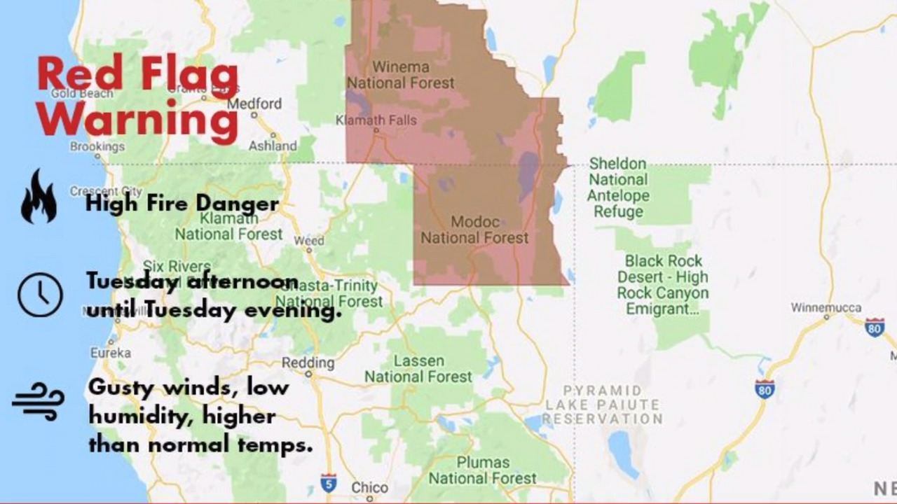 Late September heat, wind bring severe wildfire danger across Northern California this week