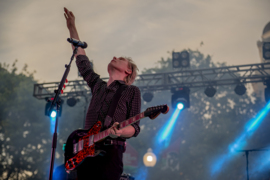 Get the front-row view of Franz Ferdinand at Sacramento park